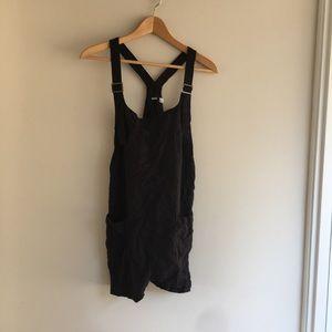 f0c7190930d BDG Pants - BDG Black Nicki Overall Romper
